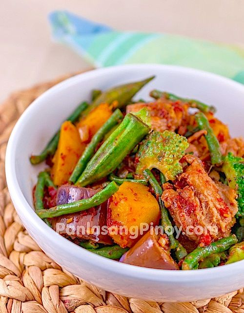 Pinakbet is a Filipino Mixed Vegetable Recipe. This Pinakbet Recipe will surely tickle your taste buds. Get to know the details of this dish by watching our cooking video and following our tested recipe.