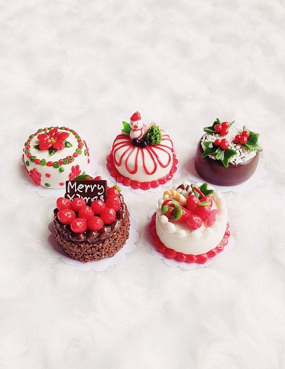 Hey, I found this really awesome Etsy listing at https://www.etsy.com/listing/201713986/miniature-christmas-cake-bakery-for-doll