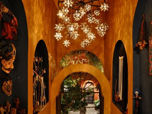 Create Drama Indoor And Outdoors With Mexican Punched Tin Star Lightonrovia Glass Lights From Indeed Decor Curators Of Unique Home