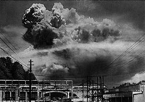 EFFECTS: In matter of seconds after the bomb was dropped in Hiroshima, more than half of the city was dead or badly hurt. It is estimated that 60,00 to 70,000 were killed and 140,000 were injured. Also, the radiation from the bombs killed people instantly. In Nagasaki, 42,000 were killed and 40,000 plus were injured. 39% of buildings were destroyed and many houses went up in flames from the nuclear bombs.