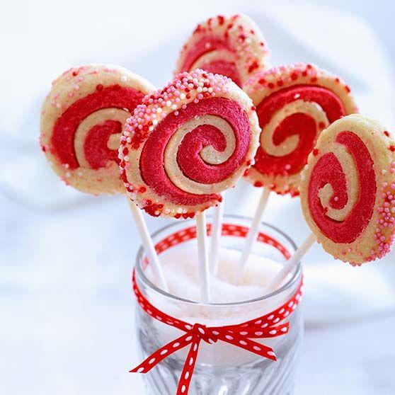 Sjove kager på pinde, jul, dansukker, juleri med børnene, kage, inspiration, opskrift, christmas