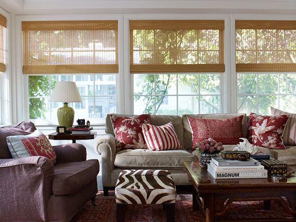 Inherited Ease, Tim Clarke Design love the window blinds