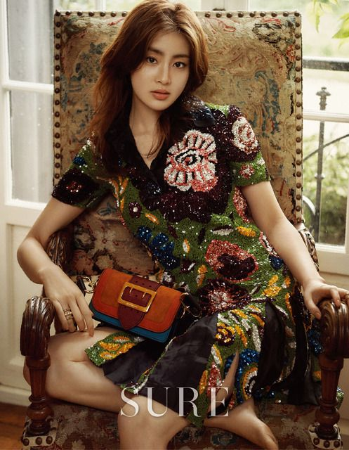 Kang Sora Covers August 2016 Sure | Couch Kimchi