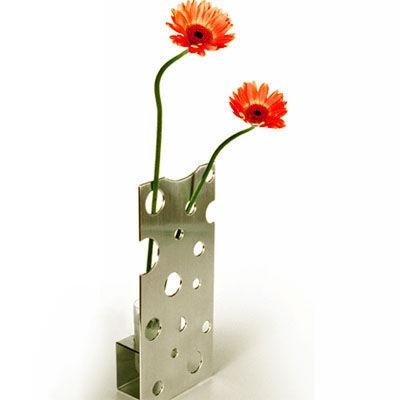 A cheesy flower vase!