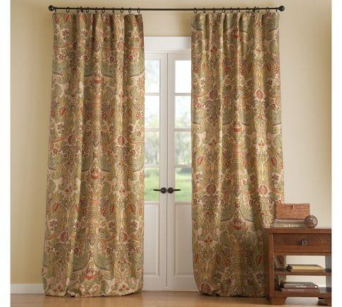 pottery barn simone drape curtain panelstoo much