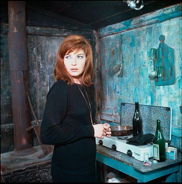 Monica Vitti, 'Il deserto rosso', 1964, foto di Enrico Appetito