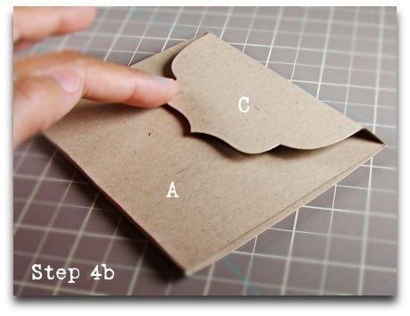 DIY envelope #tutorial #paper #craft