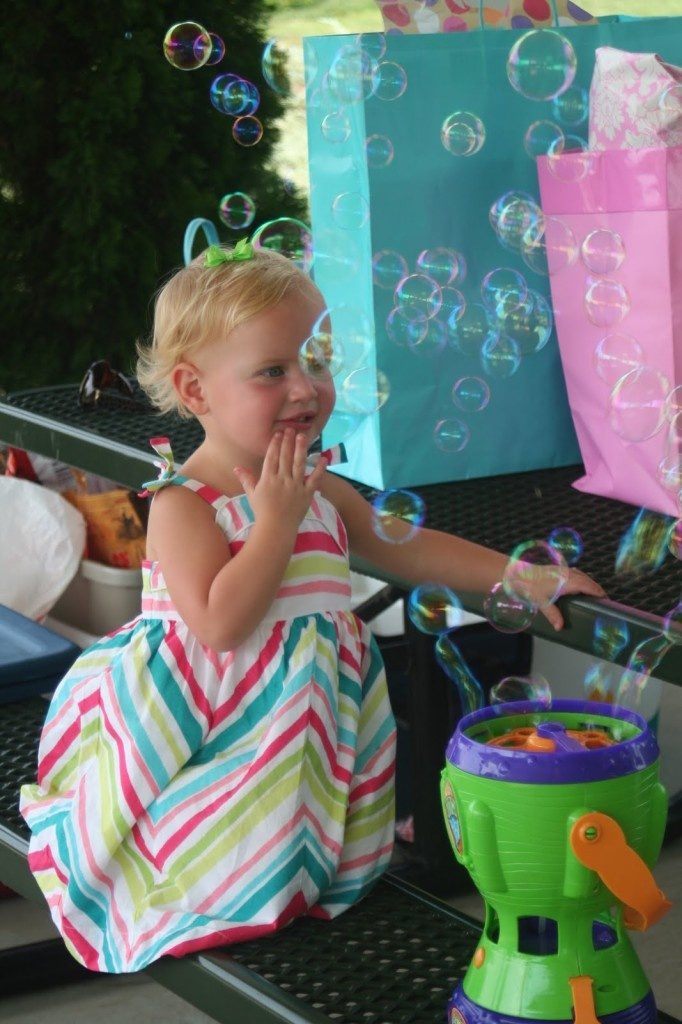 need to remember a bubble machine for the under the sea party!