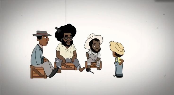 The season premiere of 'Black-ish' was a musical dedicated to the Juneteenth. This episode included an animated appearance by The Roots.