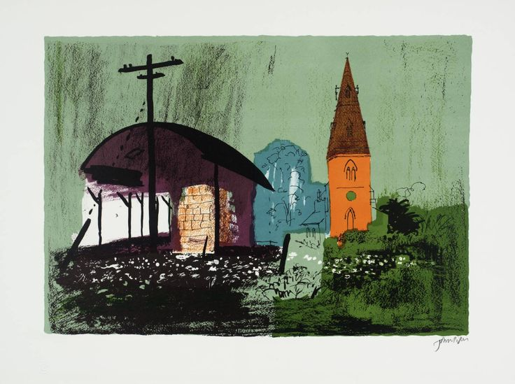 John Piper 'Seaton', 1977–8 © The Piper Estate