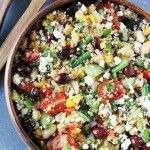 Greek Quinoa Salad | Quinoa Salad Recipe | Two Peas & Their Pod
