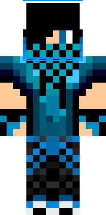 minecraft boy skins | Blue Dj Boy Skin