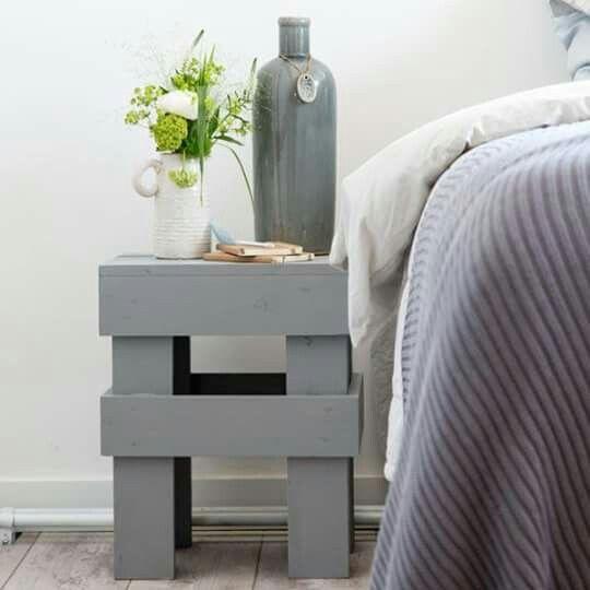 vt wonen diy krukje creatieve inspiraties hout pinterest project ideas pallets and woods. Black Bedroom Furniture Sets. Home Design Ideas