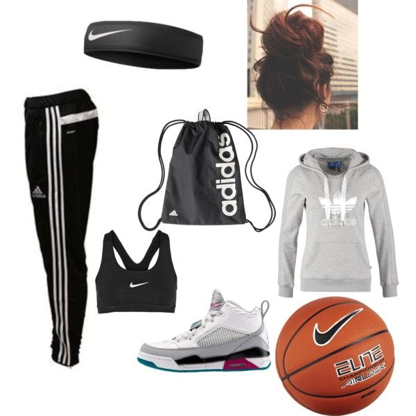 Basketball practice««««««Except I'd rather have a pony tail than a messy bun