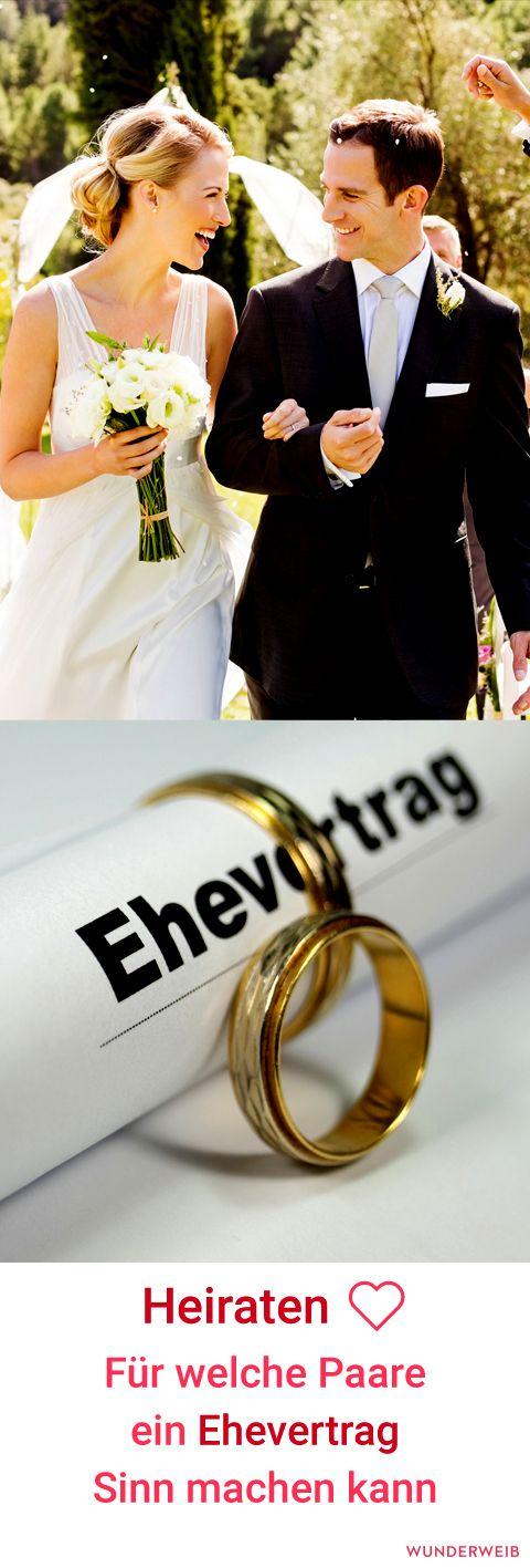 Für welche Paare ein Ehevertrag sinnvoll ist, erfährst du hier. #ehe #hochzeit #hochzeitsplanung