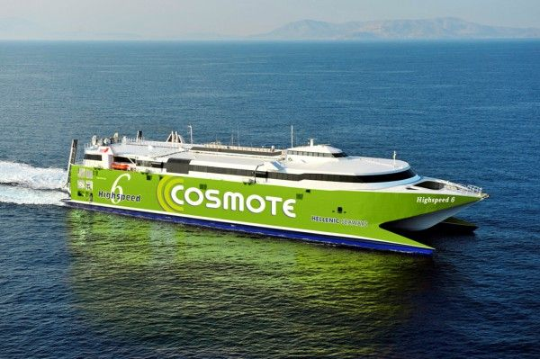 Hellenic Seaways has published 2013 HighSpeed 6 ferry schedules