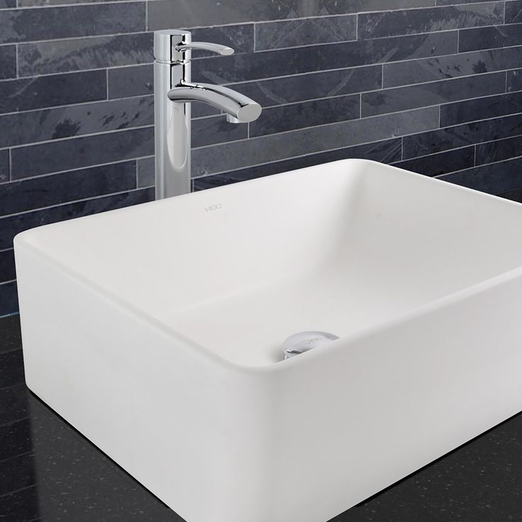 Vigo Milo Bathroom Vessel Faucet In Chrome (Grey) (Vigo Bathroom Faucet)