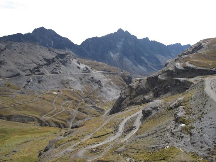 Death Road, 1st stage, Bolivia