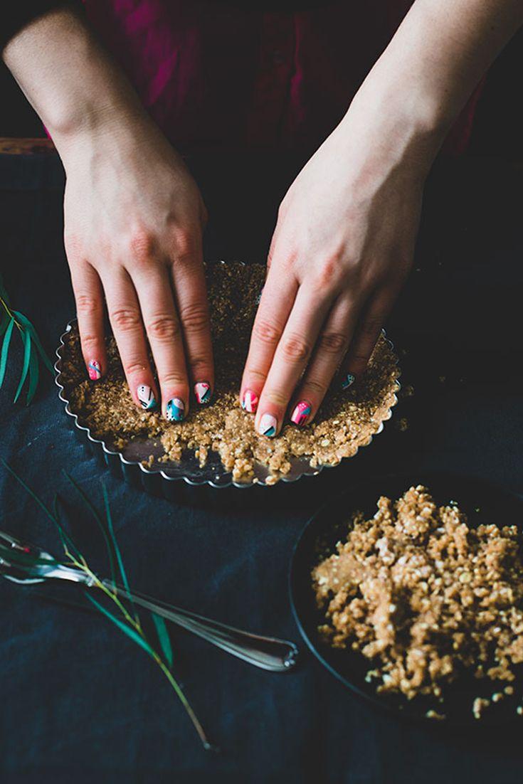 vegan chocolate mousse cake by De Groene Meisjes