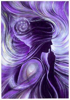 purple in art - Google Search