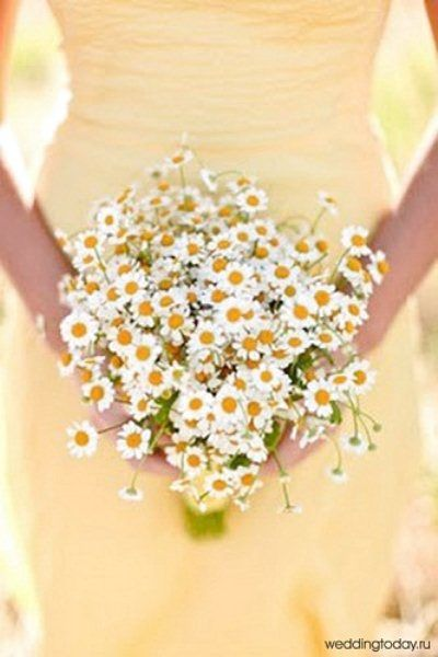 Matrimonio primaverile: il bouquet di Margherite The Wedding Italia