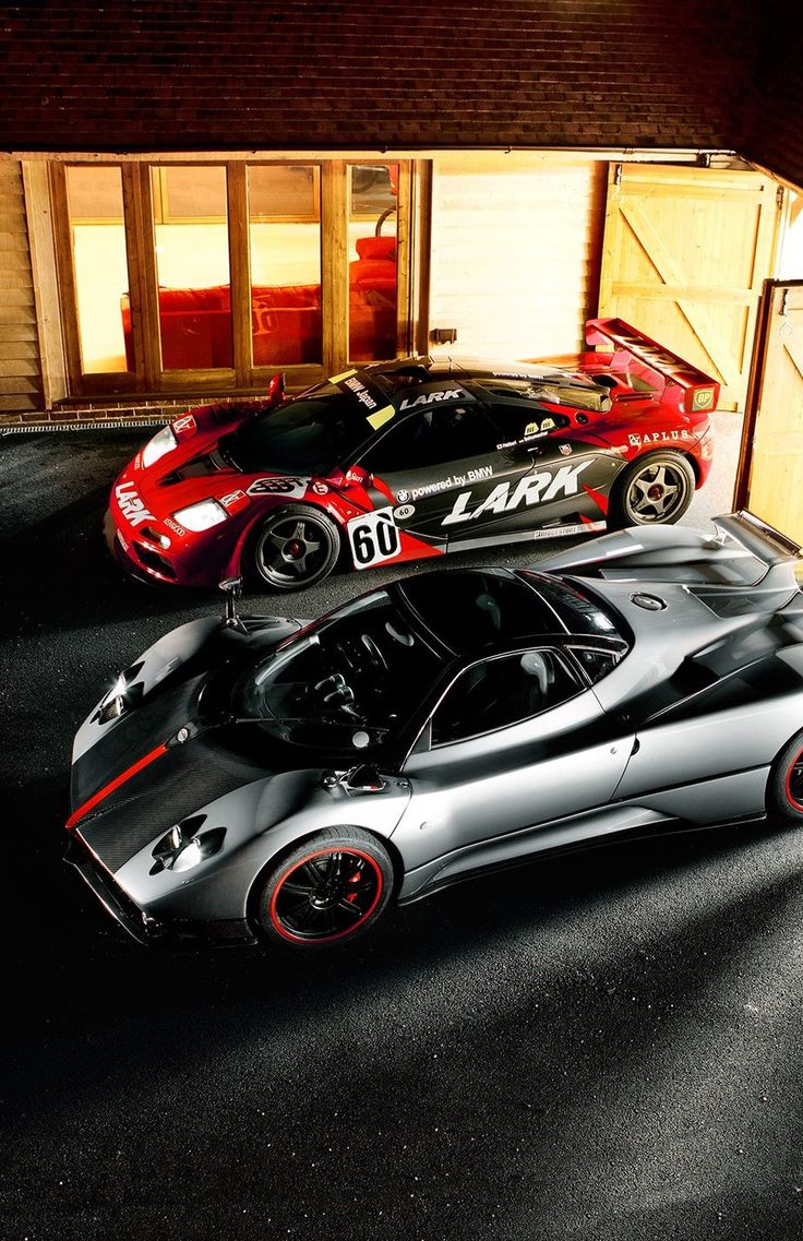 Pagani Zonda And Mc Laren F1 GTR