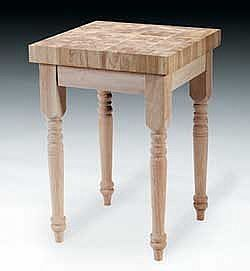 How To Make A Butcher Block Table