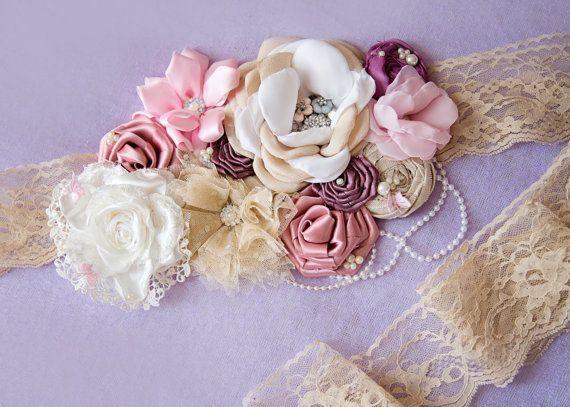maternity sash on Etsy, £40.00 by randi