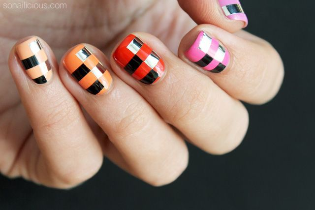 3 Funky Nail Art Ideas To Try This Weekend. Tutorials Provided!
