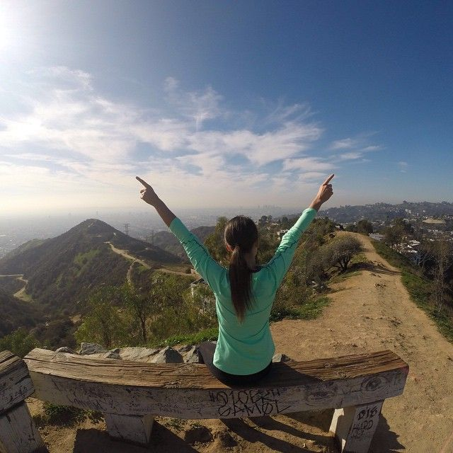 Top of Runyon Canyon #hiking #la #runyoncanyon #travel