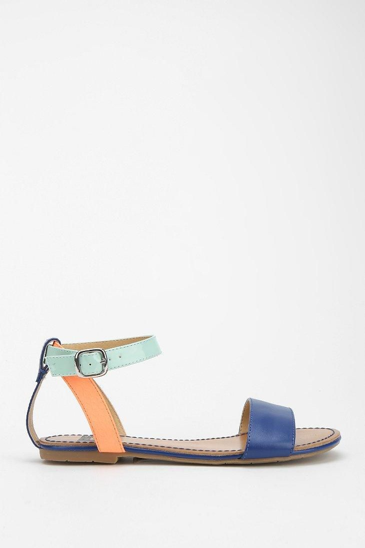 BC Footwear Natural Instinct Ankle-Wrap Sandal #urbanoutfitters
