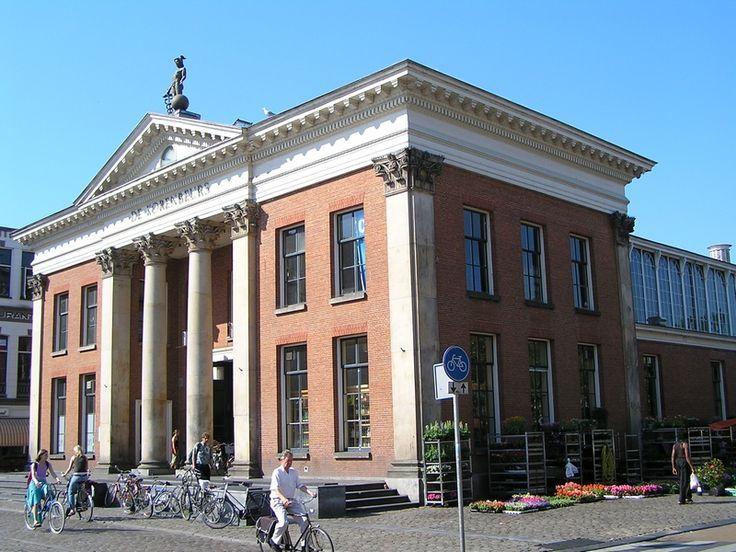 De Korenbeurs. Vismarkt, Groningen. The Netherlands.