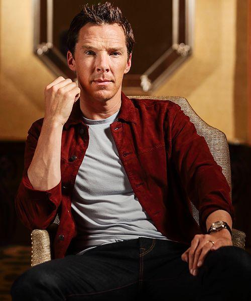 Benedict Cumberbatch by Dan MacMedan for USA Today