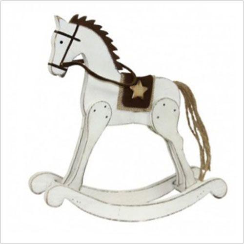 """Figurka drewniana """"Koń na biegunach"""""""