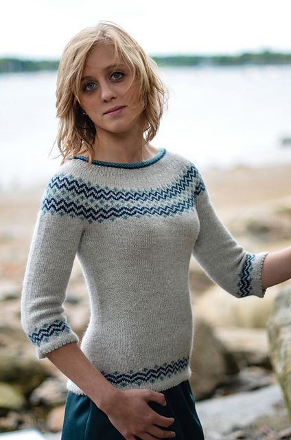 Ravelry: Essex pullover pattern by Alison Green