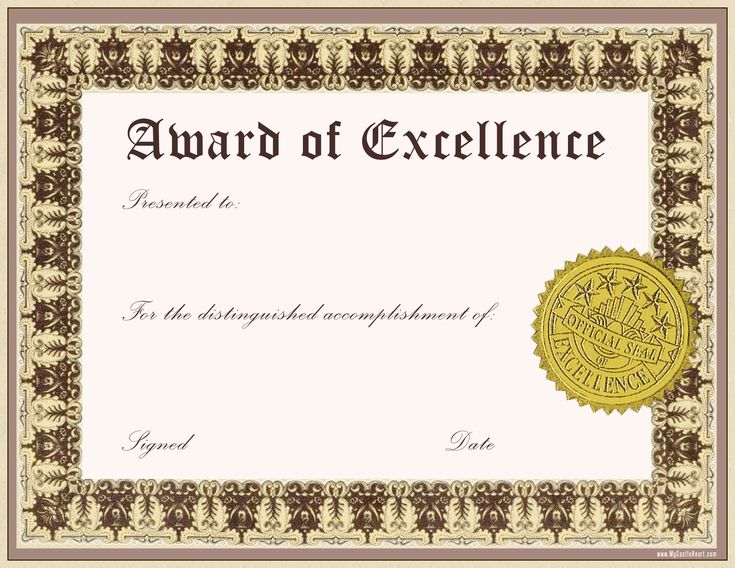 The 25+ best Certificate of recognition template ideas on - award templates for word