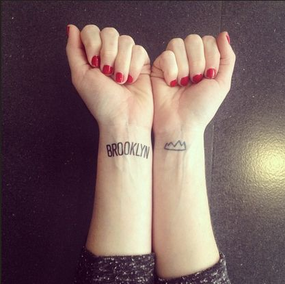 Brooklyn / 43 Rad Tattoos To Pay Tribute To Your Favorite Place (via BuzzFeed)