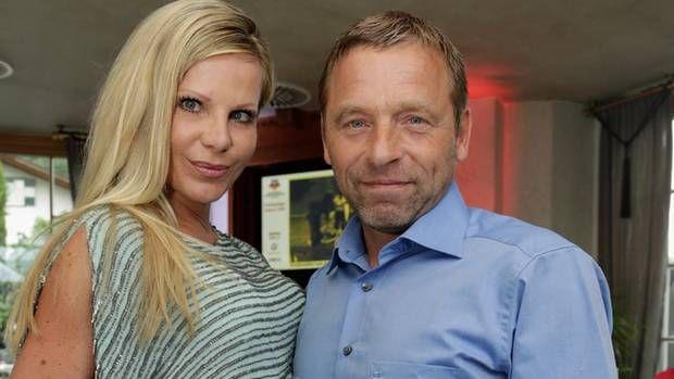 Dschungelcamp-Kandidat Thomas Häßler und seine Frau Anke