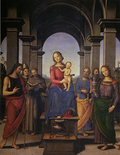Pietro Perugino, Fano Altarpiece, c. 1497