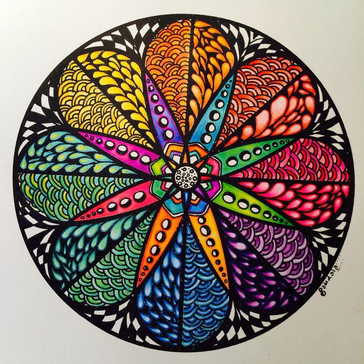 Zendala Colour Wheel primary
