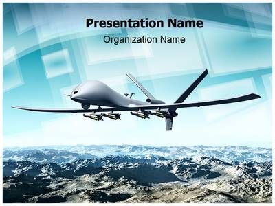 Drone Aircraft Powerpoint Template is one of the best PowerPoint templates by EditableTemplates.com. #EditableTemplates #PowerPoint #War #Force #Drfly #Weapon #Military #Defence #Combat #Modern Life #Uav #Strike #Conflict #Landscape #Surveillance #Remote
