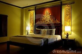 Asian Style Bedroom, Royalty