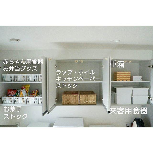 台所収納アイデア特集 場所別 道具別にご紹介します Folk キッチン 吊り戸棚 収納 台所収納アイデア 収納 アイデア