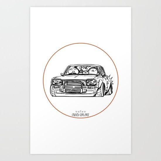 Crazy Car Art 0002 - $20