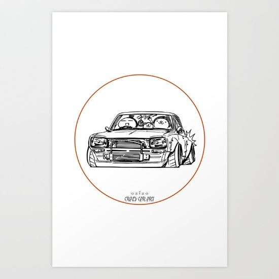 Crazy Car Art 0002 - $20