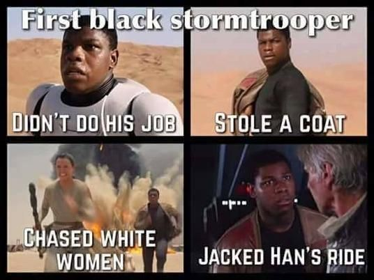 Black Stormtrooper