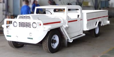 Underground vehicles for mining industry
