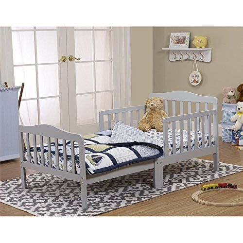 Toddler Bed Solid Wood Contemporary Toddler Bed Easy Assembley