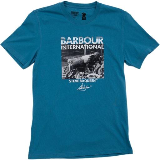 Denim E-Zee T-Shirt (Steve McQueen Collection) from Barbour http: