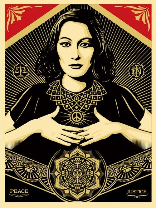 Obey Giant - Peace & Justice Woman